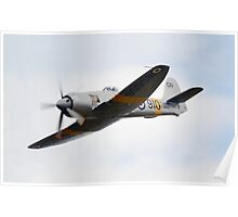 Hawker Sea Fury T Mk 20 Poster