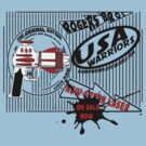 usa warriors raygun by rogers bros by usanewyork