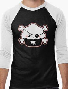 Cute Pirate Cupcake Men's Baseball ¾ T-Shirt