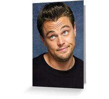 Leonardo DiCaprio Greeting Card
