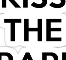 Kiss the librarian Sticker