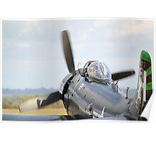 Douglas AD-4NA Skyraider Poster