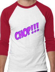 chop Men's Baseball ¾ T-Shirt