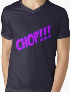 chop Mens V-Neck T-Shirt