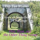 Top Ten - Green & Something Else by quiltmaker