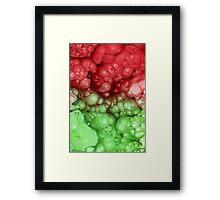 Alien Bubbles Framed Print