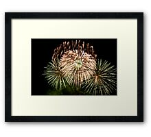 Fireworks at Battersea Park Framed Print