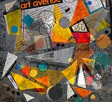 Art Avenue Collage by Ruth Palmer