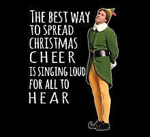 Elf, christmas cheer by Geministik
