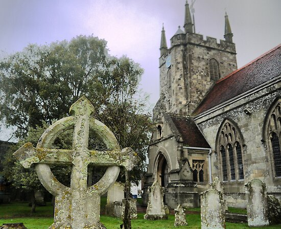 St.Mary in Hailsham (1) by cullodenmist