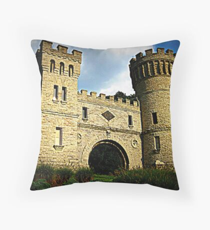 The Castle Cincinnati Throw Pillow