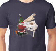 Santa Claus Piano Player Unisex T-Shirt