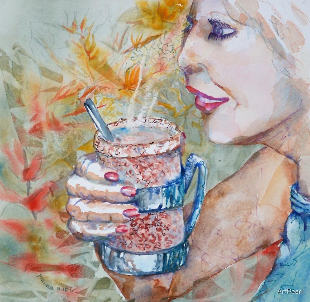 T41: Tea in Paradise by ArtPearl