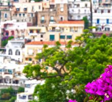 Positano Purple Sticker