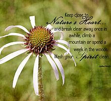 Keep Close to Nature's Heart by Pamela Holdsworth