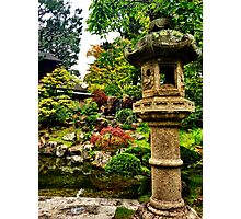 Asian Gardens  Photographic Print