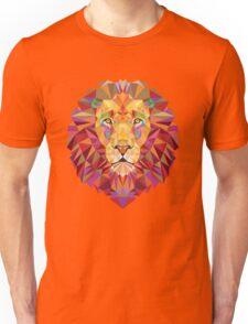 Geometric Lion Unisex T-Shirt