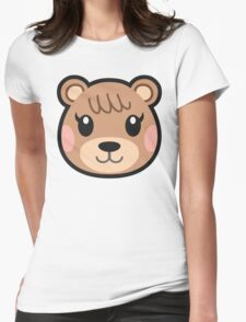 MAPLE ANIMAL CROSSING Womens Fitted T-Shirt