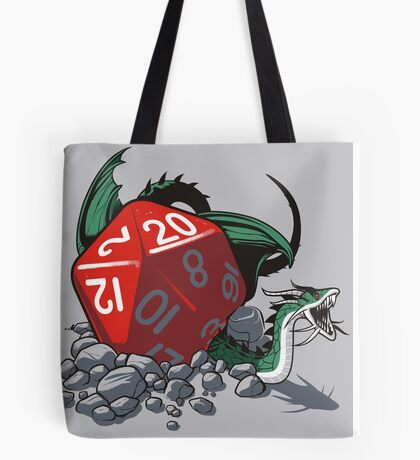 CRITICAL HIT Tote Bag