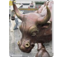 Don't Mess with the Bull iPad Case/Skin