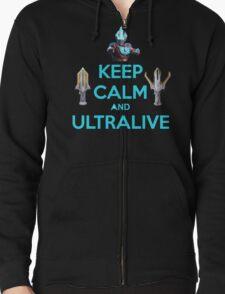 Keep Calm and Ultralive Ultraman Ginga T-Shirt