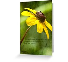 Be Better Greeting Card