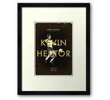 Derby County - Kevin Hector Framed Print