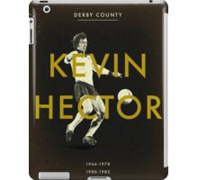 Derby County - Kevin Hector iPad Case/Skin