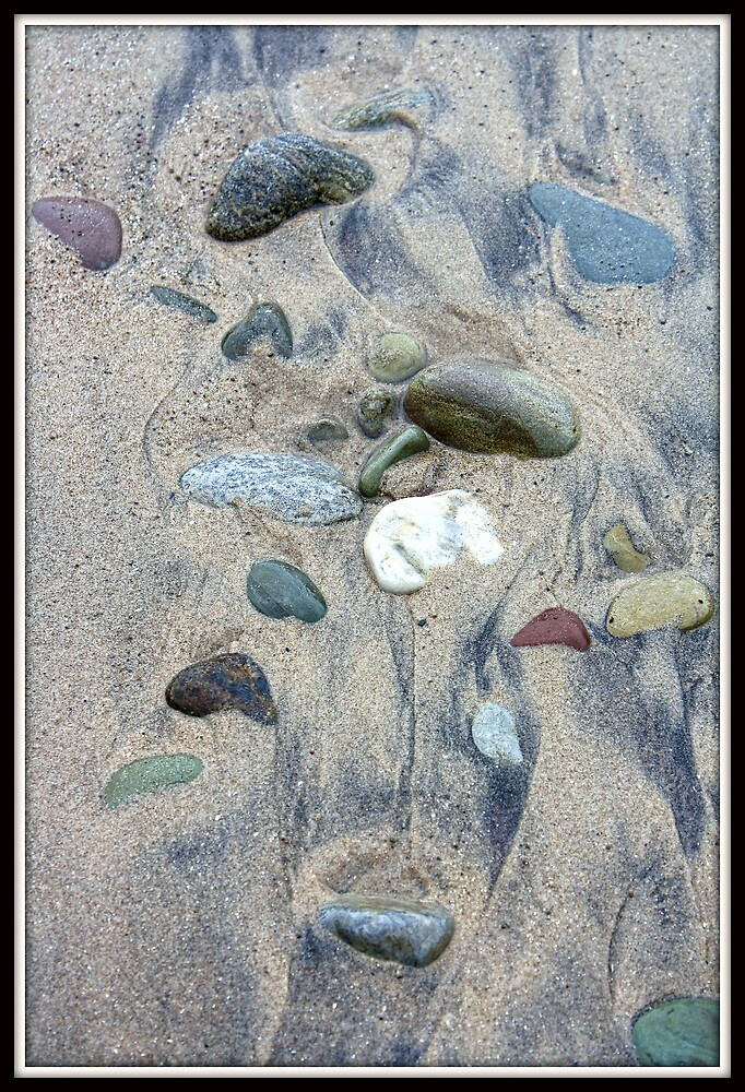 Stones in the Surf by Mikell Herrick