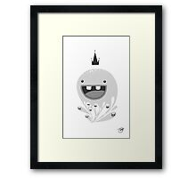 King Lip of the Squiggles Framed Print