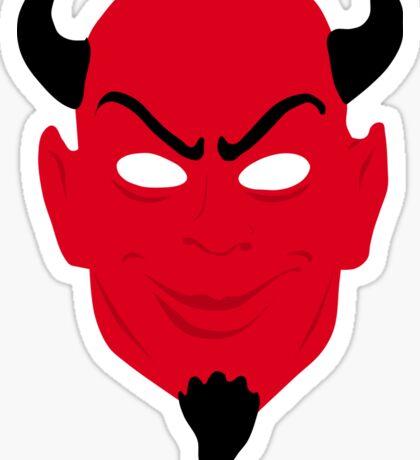 Red Devil Sticker
