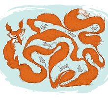Fox Tail Maze by youareconstance