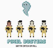PIXEL BUSTERS - Sticker by AshWarren