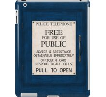 Police Telephone iPad Case/Skin