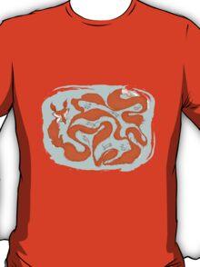 Fox Tail Maze T-Shirt