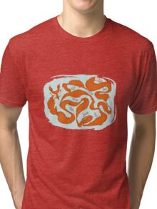 Fox Tail Maze Tri-blend T-Shirt