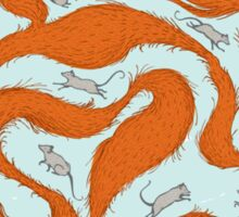 Fox Tail Maze Sticker