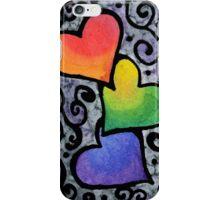 Dark Hearts  iPhone Case/Skin