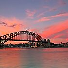 Sydney Harbour Bridge - end of a fabulous day by bazcelt