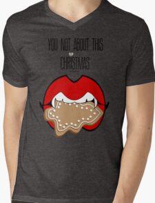 Tis the Season to be Bitten!!! :D Mens V-Neck T-Shirt
