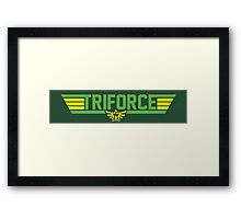 Top Gun Triforce Framed Print