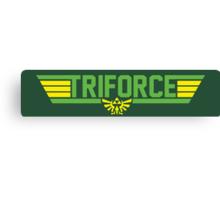 Top Gun Triforce Canvas Print