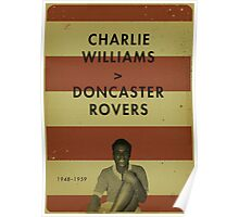 Charlie Williams - Doncaster Rovers Poster