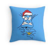 Christmas Genie Throw Pillow