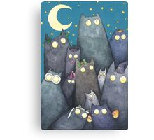 Lots of Cats Canvas Print