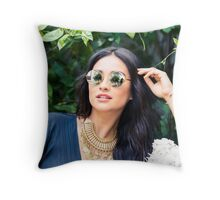 Shay Mitchell Throw Pillow