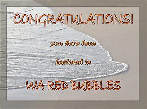 Banner for WA Red Bubbles by pennyswork
