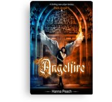 Anglefire book cover for Hanna Peach Canvas Print