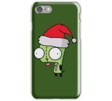 Invader Zim - Santa Gir [Green] iPhone Case/Skin