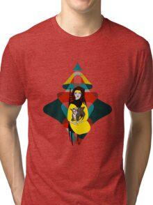 Goat Herder 1 Tri-blend T-Shirt